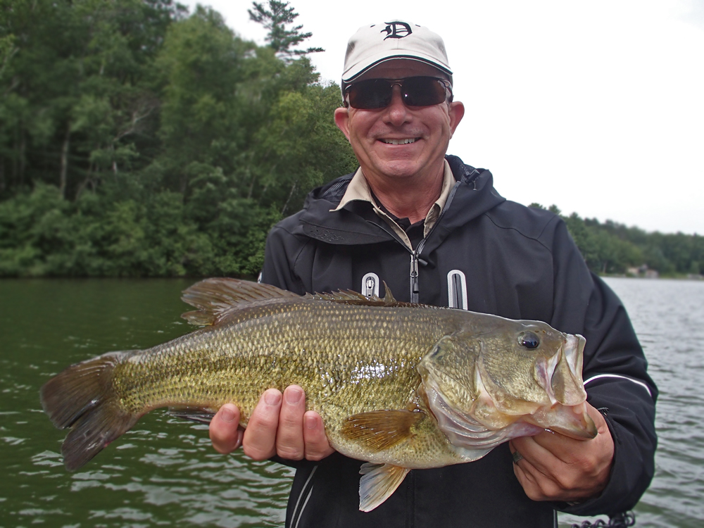 Bass Fishing Guide Service Manitowish Waters